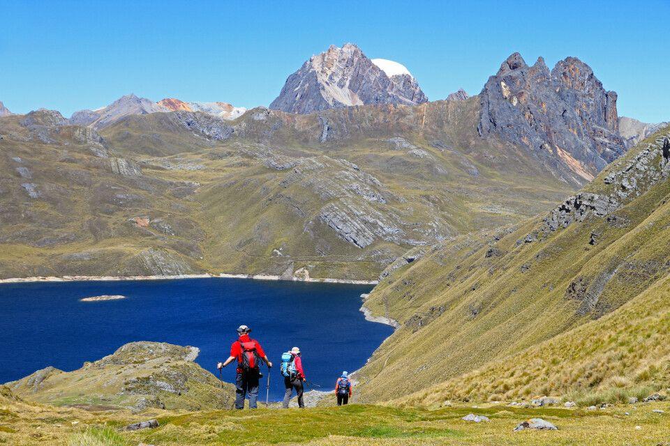 Trekking in der wunderschönen Cordillera Huayhuash
