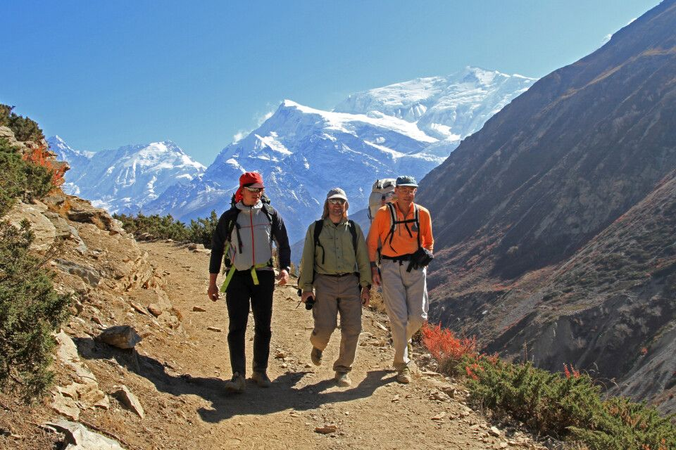 Trekking auf der Annapurna-Runde