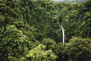 Wasserfall von La Fortuna