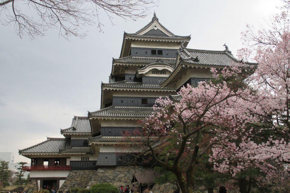 Die Krähenburg in Matsumoto ist eine der eindrucksvollsten Burgen Japans.