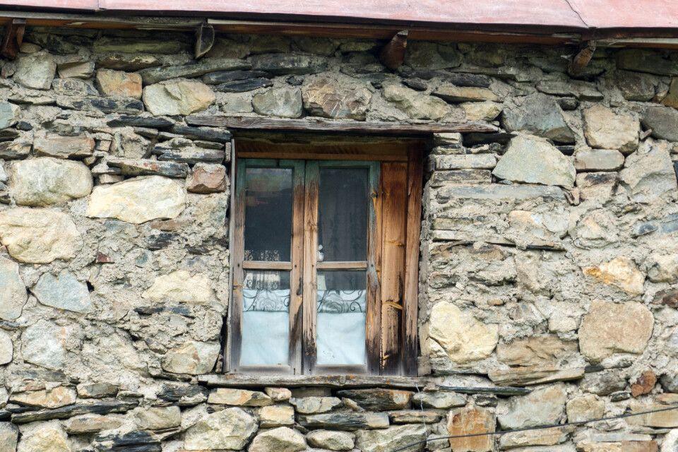 In den Dörfern in Swanetien ist das Leben noch sehr einfach