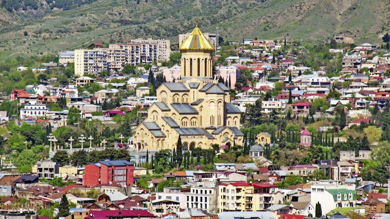 Sameba-Kathedrale von Tiflis © Diamir
