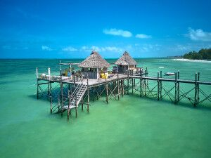Beach Bar des Spice Island Resorts