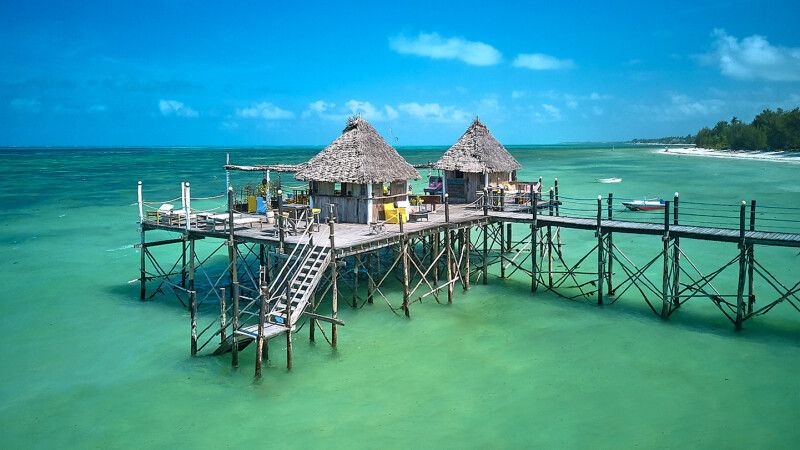 Beach Bar des Spice Island Resorts © Diamir
