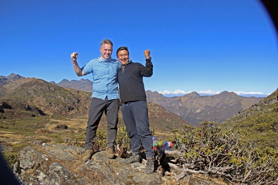 Druk-Path-Trekking: Wir haben den Labana-La-Pass (4210m) geschafft!