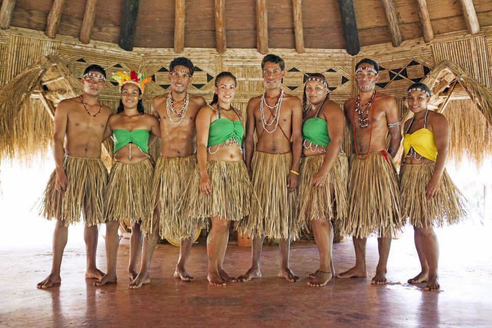 Traditionelle Tänzer