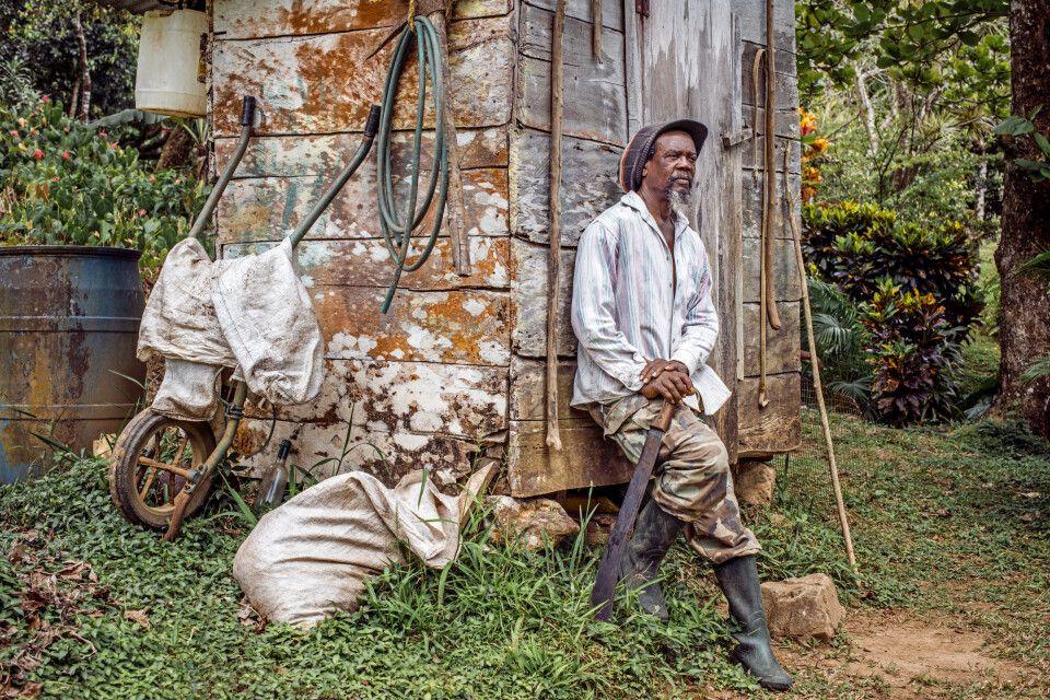 Dominicanischer Bauer