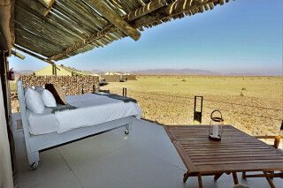 The Elegant Desert Eco Camp, Zimmerbeispiel