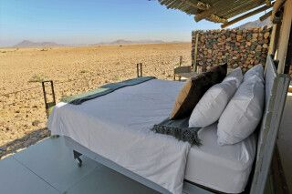 The Elegant Desert Eco Camp, Zimmerbeispiel