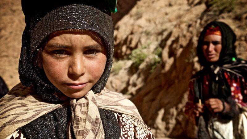 Berber Mädchen im Atlas-Gebirge © Diamir