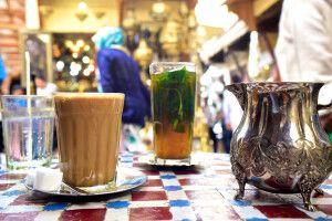 Teezeit in der Medina von Fes