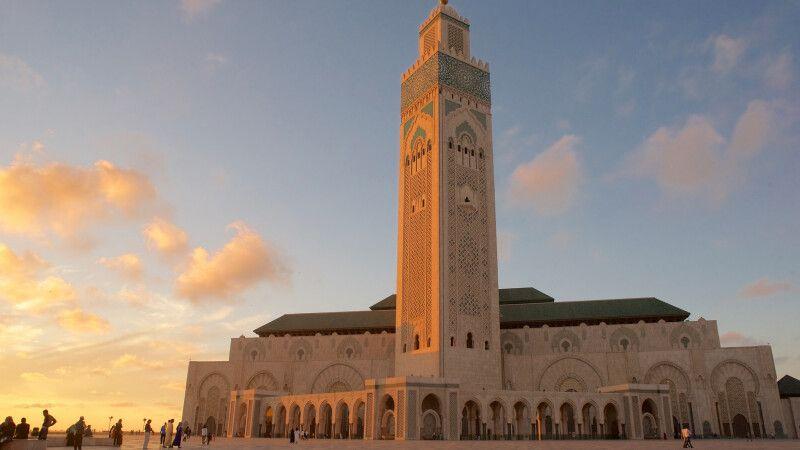 Hassan-II.-Moschee in Casablanca © Diamir