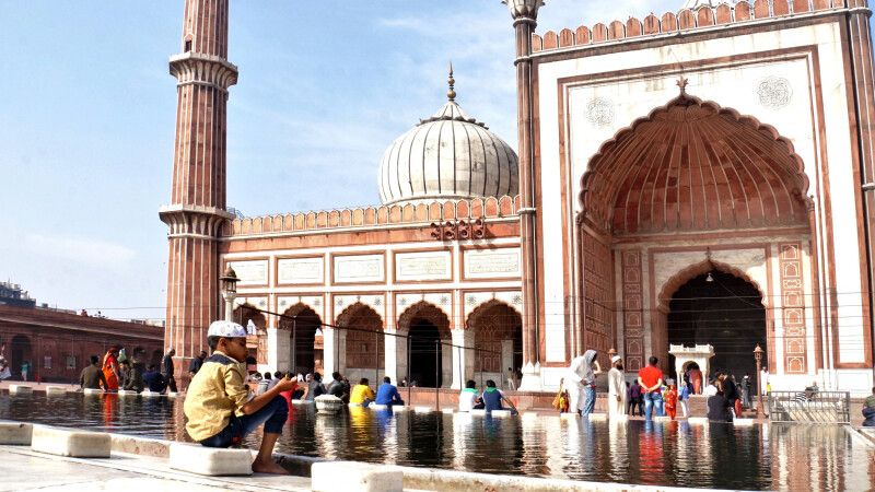 Delhi Jama Masjid © Diamir