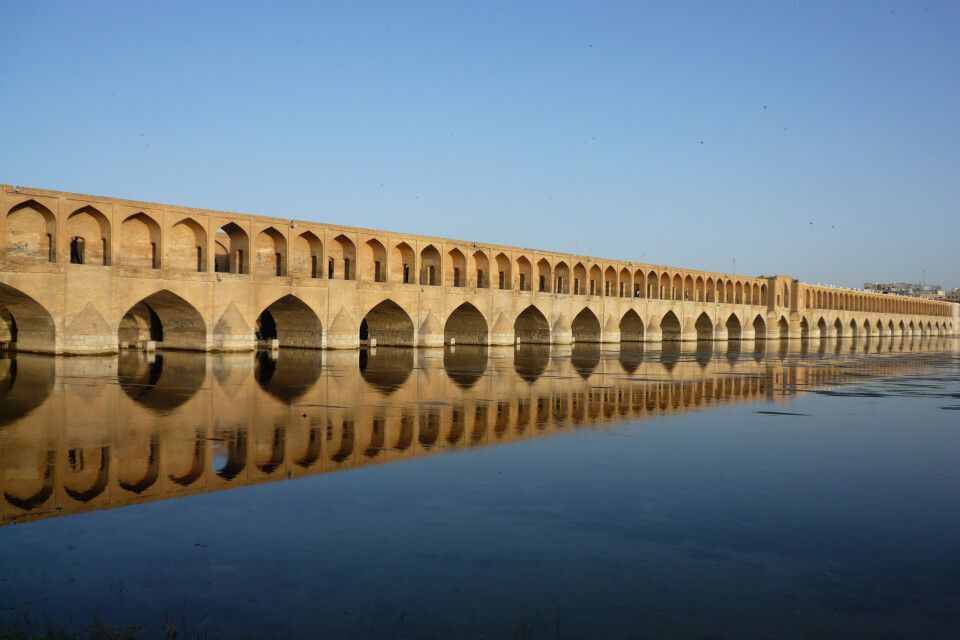33-Bogen-Brücke Si-o-se Pol in Isfahan