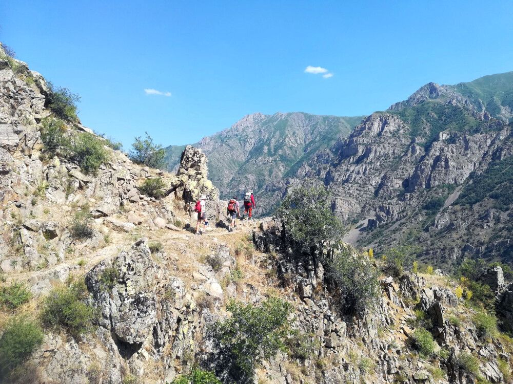 Trekkingparadies in Armenien
