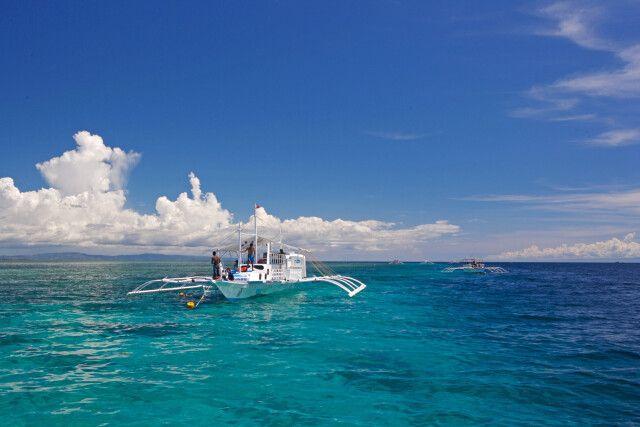 Boote vor Cebu