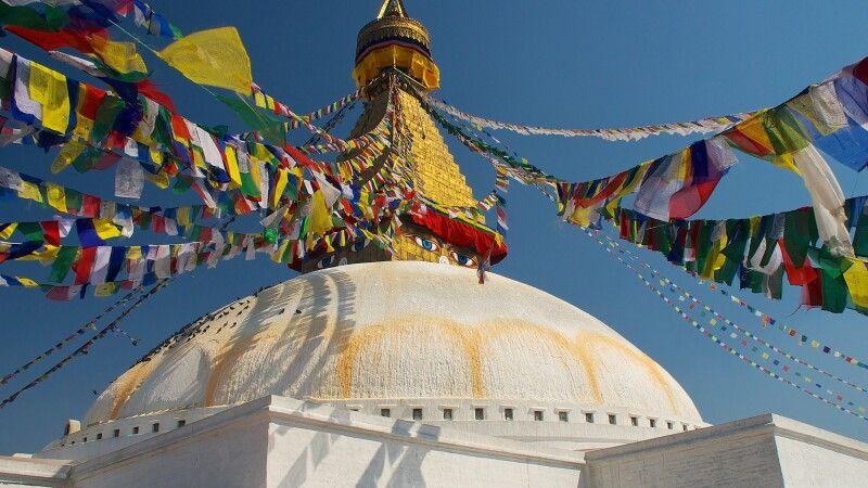 Buddhistisches Zentrum Boudhanath © Diamir
