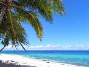 Traumstrand der Philippinen