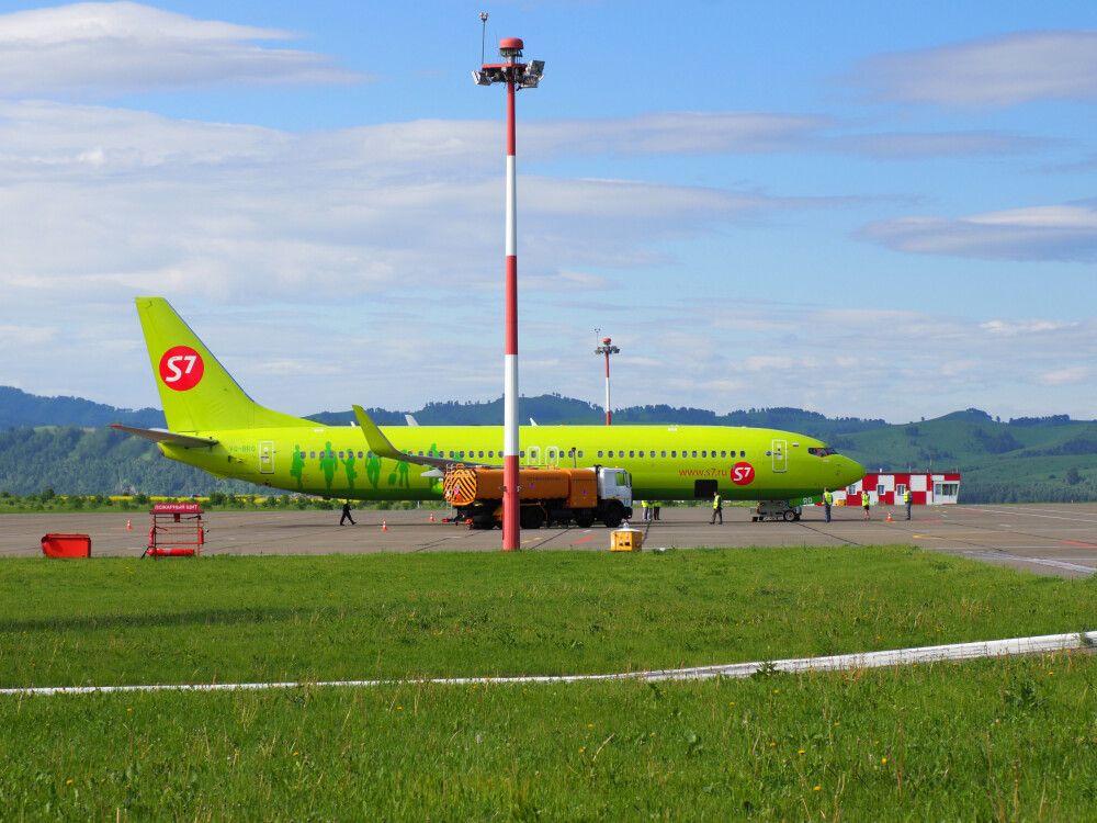 S7-Airlines in Gorno Altaisk
