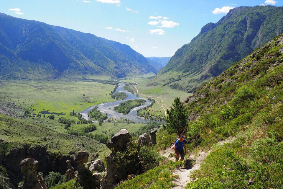 Wanderung Tschulischman-Tal
