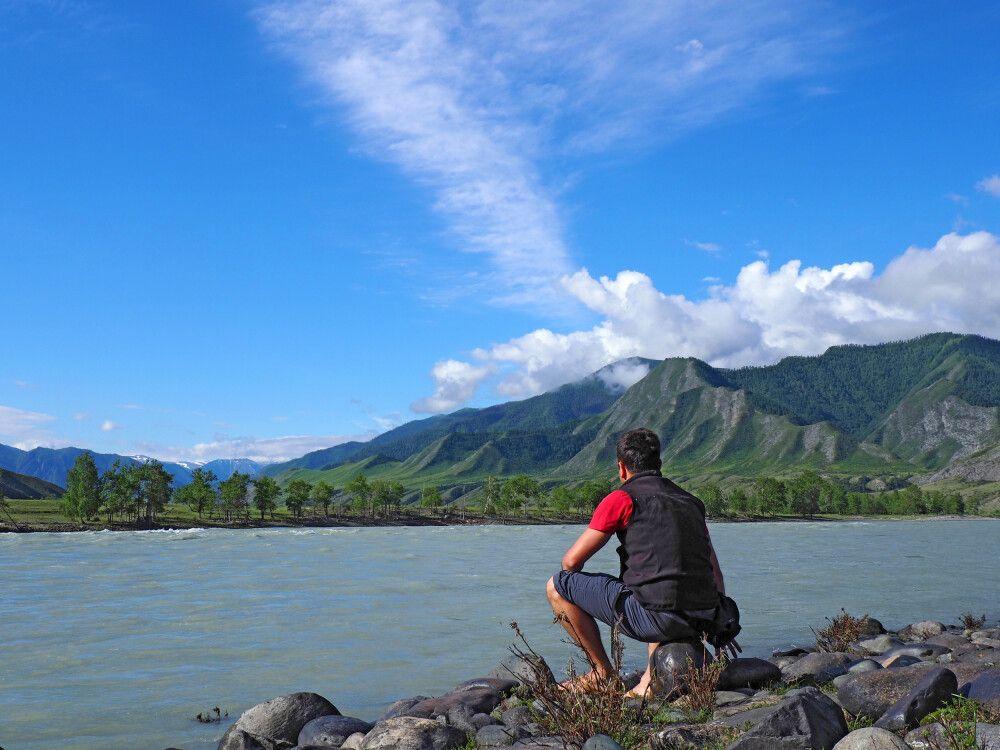 Fluss Katun in Inegen