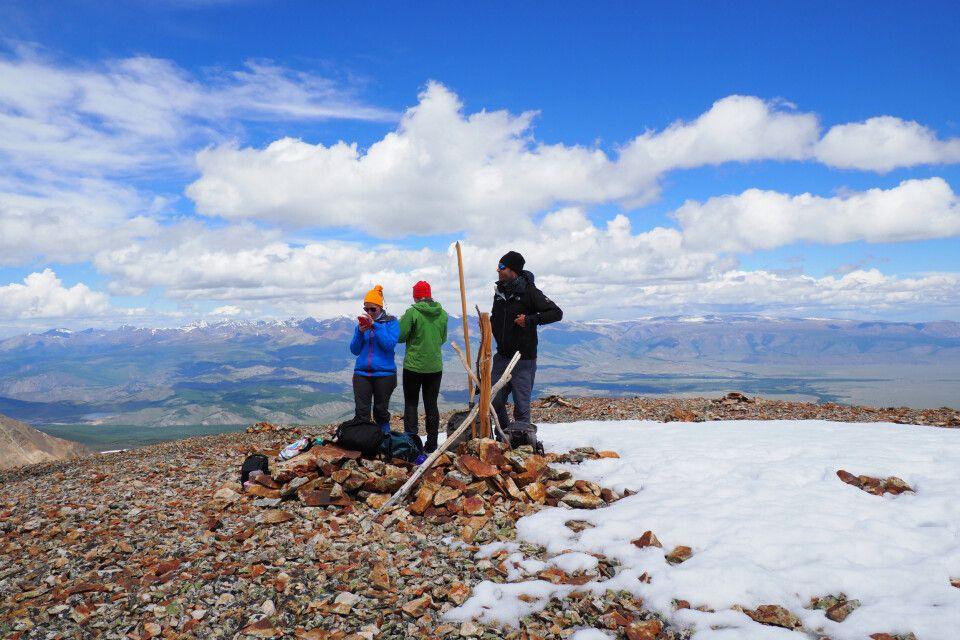 Gipfel des Uchitjel