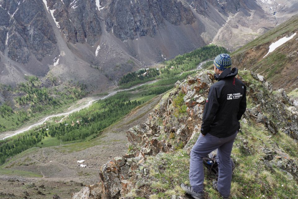 Blick zurück ins Berglager