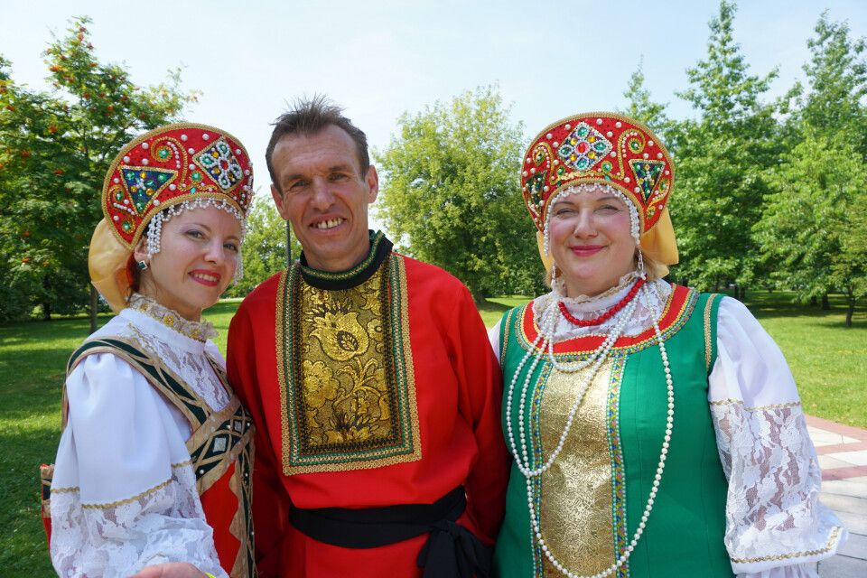 Traditionelle Volksfeste in Russland