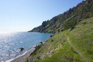 Wunderschöne Natur am Baikalsee
