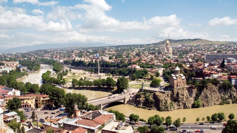 Blick auf Tiflis  © Diamir