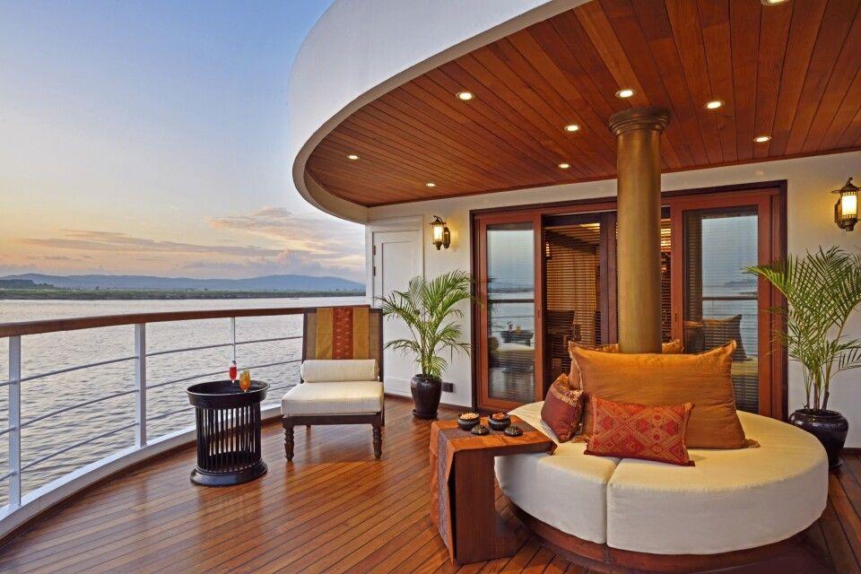 Sanctuary Ananda – privater Balkon einer Suite