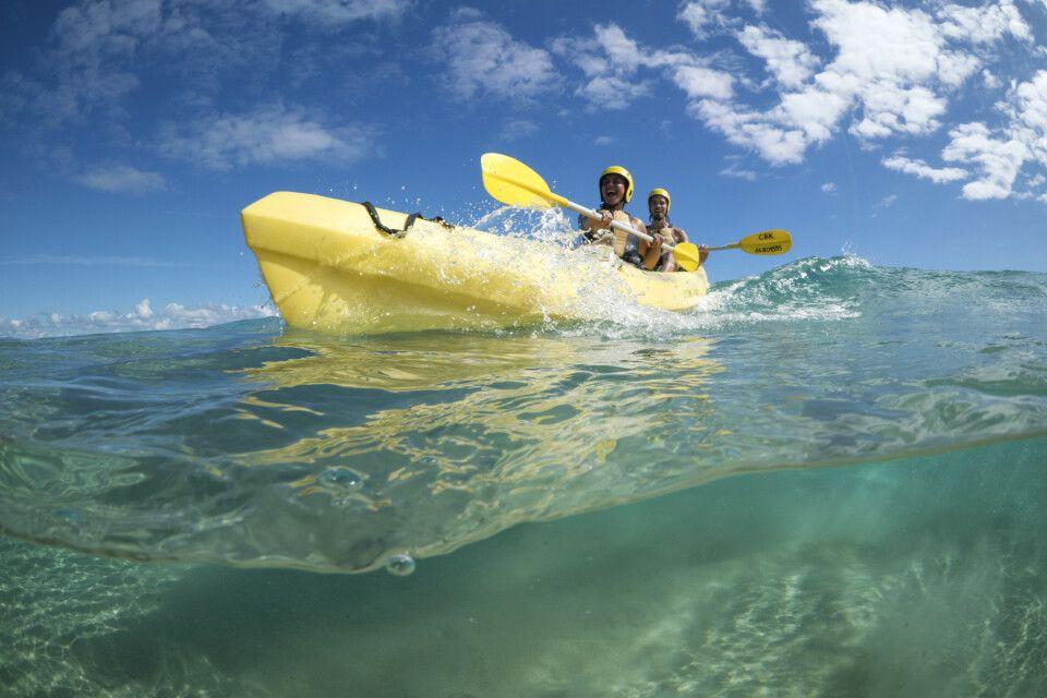 Kayaktour am Cape Byron