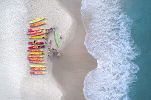 Kayaktour am Cape Byron