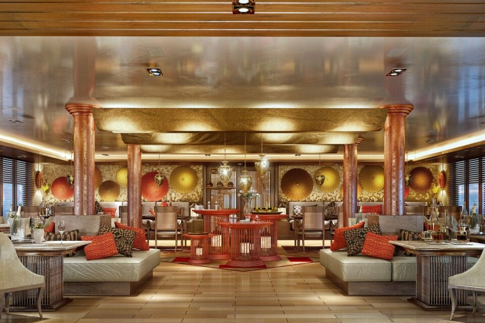 "Talifoo Restaurant der  Sanctuary Retreats ""Ananda"""