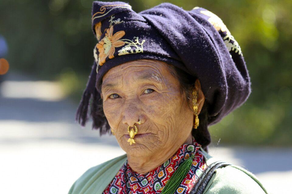 Frau in Ostnepal