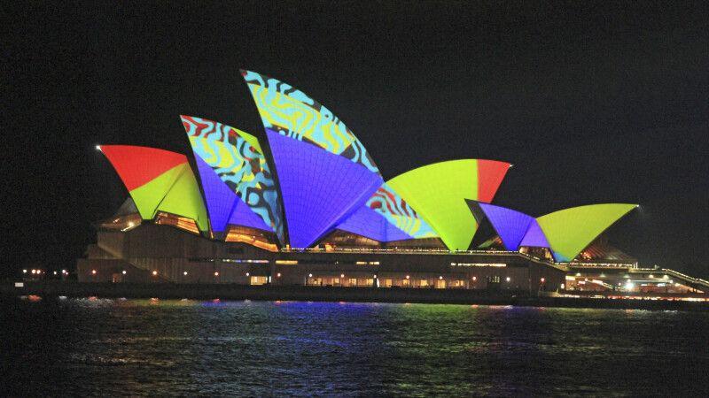 Vivid Sydney – Lichtfestival © Diamir