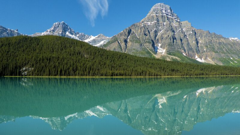 Waterfowl Lake, Banff-Nationalpark © Diamir