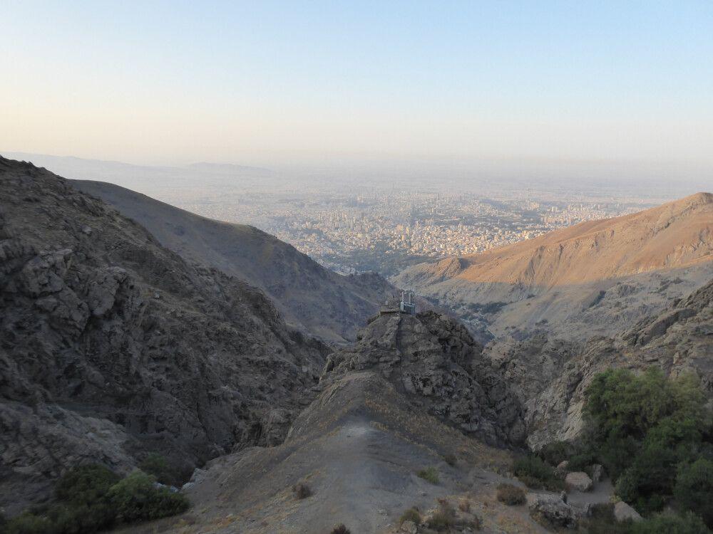 Aussicht über Teheran