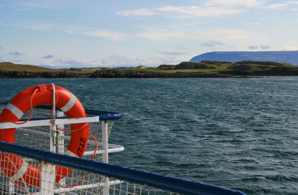Fährfahrt von Snæfellsne in die Westfjorde