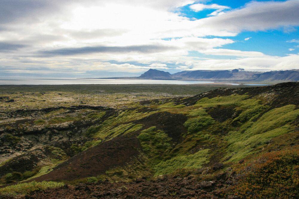 Unterwegs in der Buðahraun, Halbinsel Snæfellsnes