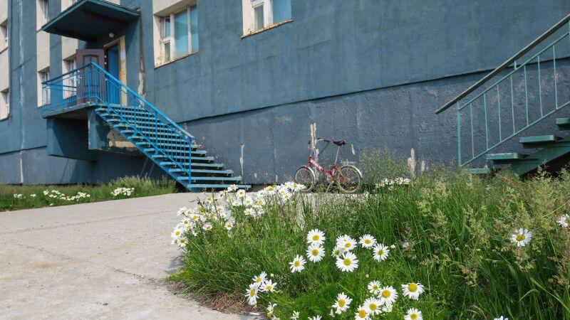 Kleinstadt-Idylle mit sozialistischem Charme in Lavrentiya © Diamir