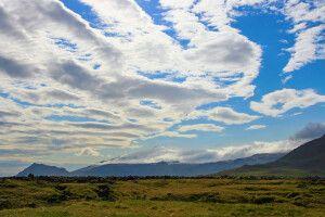 Blick auf den Gipfel des Snæfellsjökull