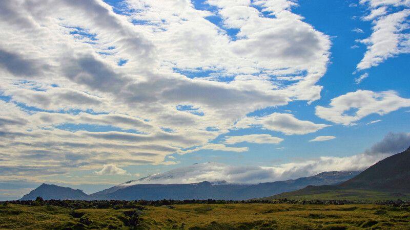 Blick auf den Gipfel des Snæfellsjökull © Diamir