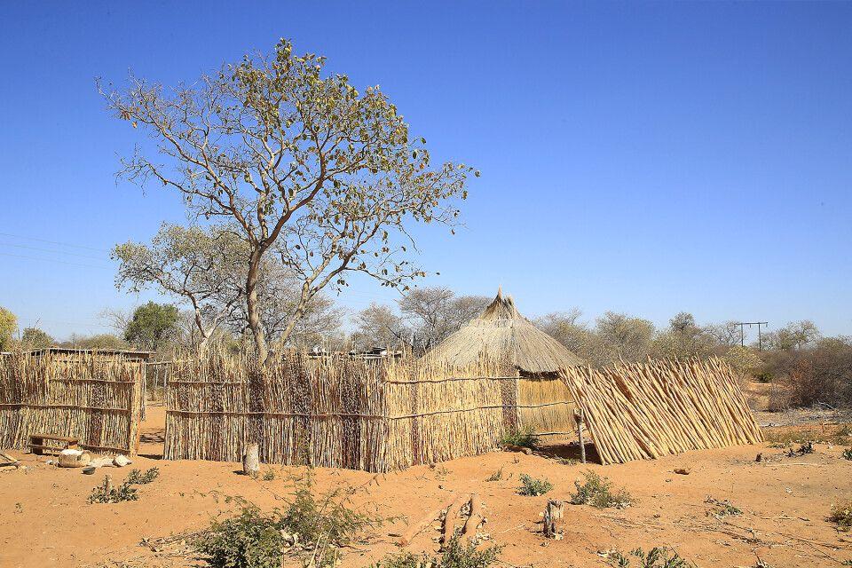 Siedlung im Norden Namibias