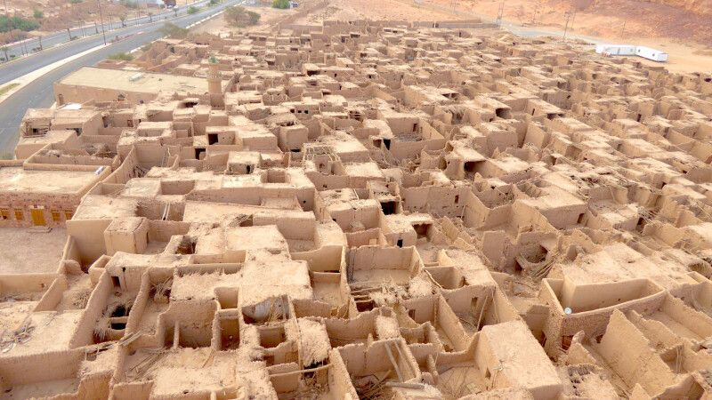 Al-Ula historisches Dorf © Diamir