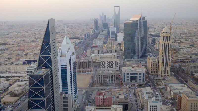 Riad vom Al-Faisal-Tower © Diamir