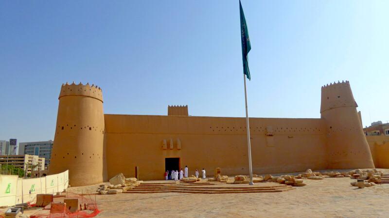 Musmak-Fort in Riad © Diamir