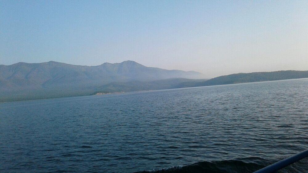 die Weite des Baikalsees