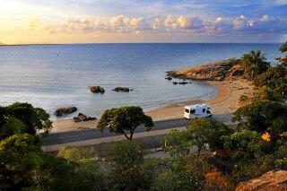 Mit dem Camper entlang der malerischen Küste von Queensland