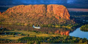 Die traumhafte Region Kimberley wird auch als Treffpunkt der Gewässer bezeichnet.